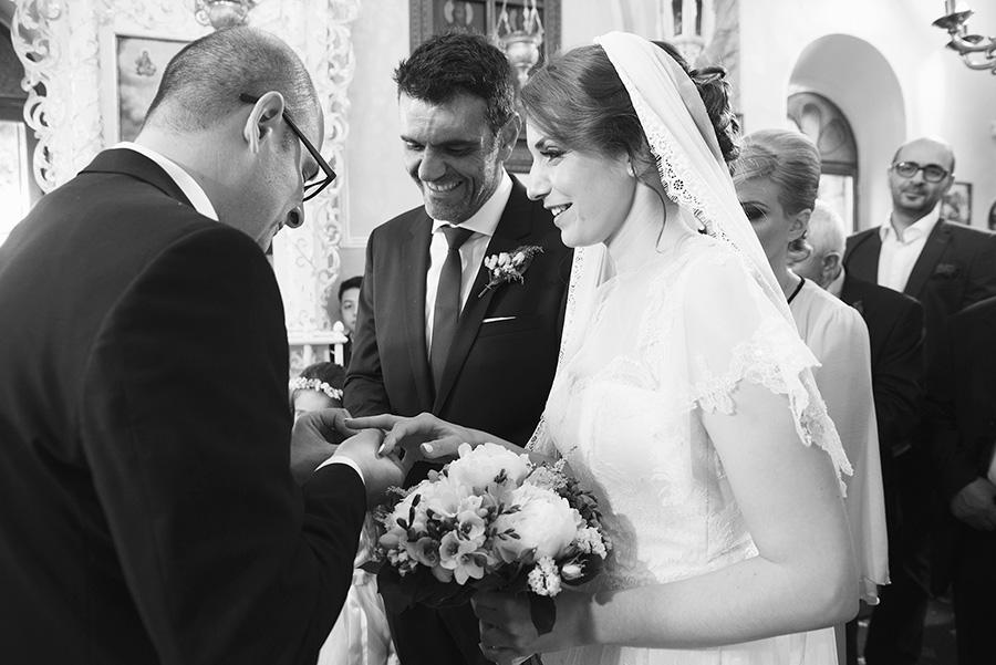 Greek wedding. wedding rings. Bestman. Orthodox church. Bride and groom. Chios, Greece. Alepa Katerina . Layer Photography