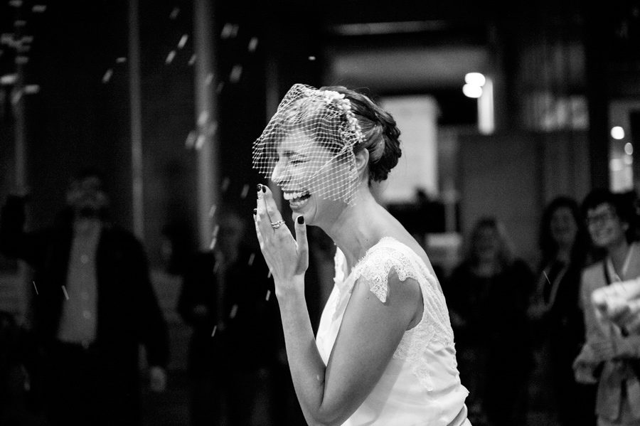 Laughing out loud.Hapiness.Their married.Wedding.Happy bride.Civil wedding in Thessaloniki,Greece