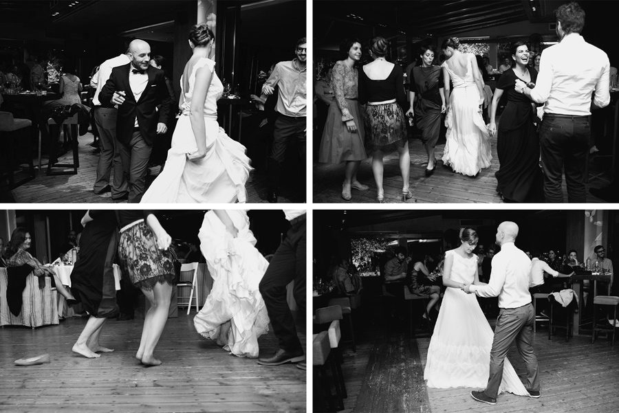 wedding party.dancing all night. groom , bride and friends. Civil wedding in Thessaloniki. Katerina Alepa . Layer Photography
