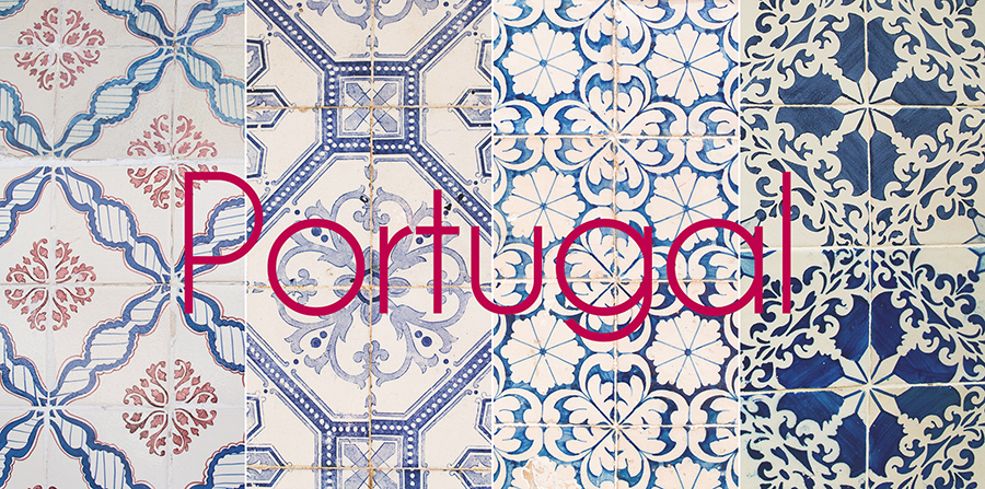 Portugal, Azulejos, the traditional blue-white tiles used to decorate entire facades of buildings. Alepa Katerina . Layer Photography